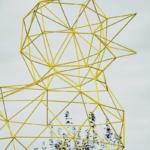canard metal jaune